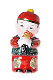 Chinese Boy Figurine Royalty Free Stock Photo