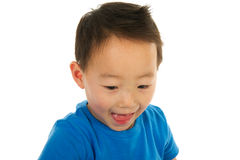 Chinese boy has fun Stock Photography