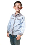 The chinese boy royalty free stock image