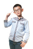 The chinese boy Royalty Free Stock Images