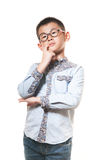 The chinese boy Royalty Free Stock Photos