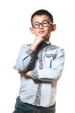 The chinese boy Stock Image
