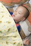 Chinese boy sleeping Stock Image