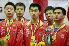 Chinese Boys team Royalty Free Stock Photo