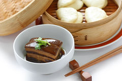 Chinese braised pork belly, dongpo pork Royalty Free Stock Images