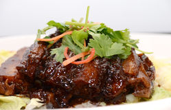 Chinese braised pork Royalty Free Stock Photography