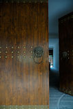 Chinese brass door knockers Royalty Free Stock Photo
