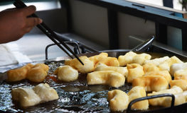 Chinese bread stick. Chinese donut fry until golden Stock Photography