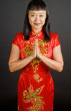 Chinese Bride Royalty Free Stock Image