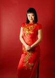 Chinese Bride Royalty Free Stock Images