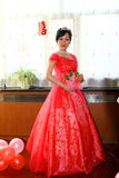 Chinese bride Stock Image