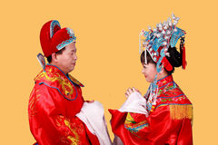 Chinese bride and groom Royalty Free Stock Images