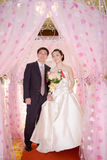 Chinese bride and groom Stock Images