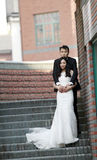 Chinese Bride and groom,wedding couple Stock Image