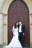 Chinese Bride and groom,wedding couple Stock Photography