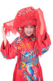 Chinese bride Stock Photography