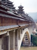 Chinese bridge Royalty Free Stock Image