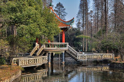 Chinese bridge Stock Photos