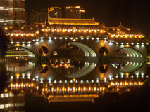 Chinese bridge Stock Photos