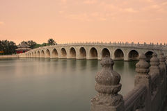 Chinese Bridge Stock Photography