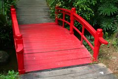 Chinese bridge Stock Images