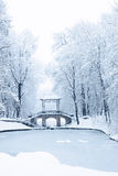 Chinese bridge, Ukrain Royalty Free Stock Photos