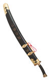 Chinese Broad Sword in scabbard Royalty Free Stock Photos