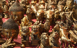Chinese bronze souvenirs Stock Photography