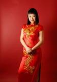 Chinese Bruid Royalty-vrije Stock Afbeeldingen