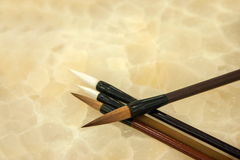Chinese brush Stock Photography