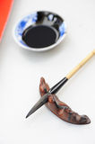 Chinese Brush and ink Stock Photography