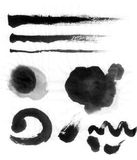 Chinese brush ink Royalty Free Stock Images