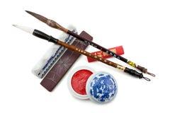 Chinese brush Stock Photo