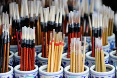 Chinese brush Royalty Free Stock Photo