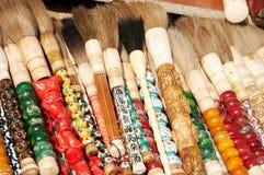 Chinese brush pen Stock Photo