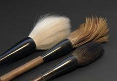 Chinese brush tips Royalty Free Stock Image