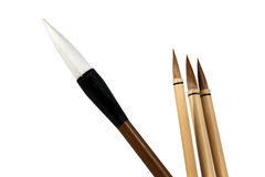 Chinese brushes Stock Image