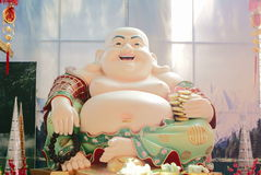 Chinese budda Stock Afbeelding