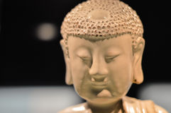 Chinese Buddha in the Museum Stock Image