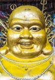 Chinese buddha statue. In Wat Phanan Choeng Worawihan, Ayutthya, Thailand Royalty Free Stock Image