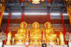 Chinese Buddha at Thailand Royalty Free Stock Photography