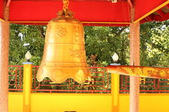 Chinese buddhist bell Stock Images