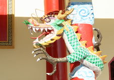Chinese buddhist dragon Royalty Free Stock Photo