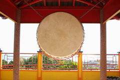 Chinese buddhist drum Stock Photo