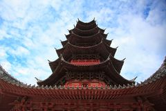 Chinese Buddhist Pagoda Royalty Free Stock Image