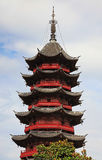Chinese Buddhist Pagoda Royalty Free Stock Photography
