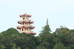 Chinese buddhist Pagoda Sapta Ratna Royalty Free Stock Images