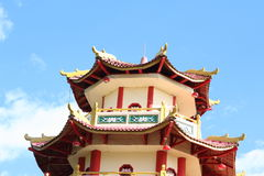 Chinese buddhist Pagoda Sapta Ratna Stock Photography
