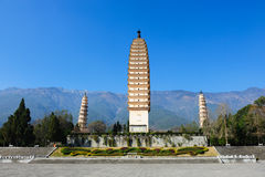 Chinese Buddhist pagodas Royalty Free Stock Photography