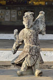 Chinese Buddhist priest statue Stock Photography